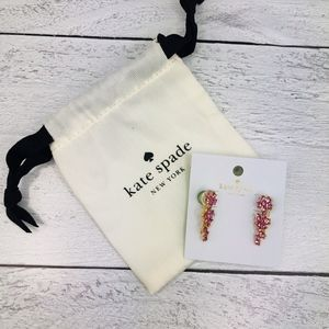 Kate Spade Pink Flower Ear Pins Earrings